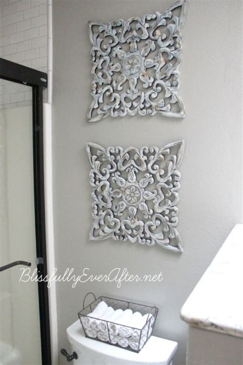 diy bathroom wall art 15 bathroom storage solutions and organization tips 9