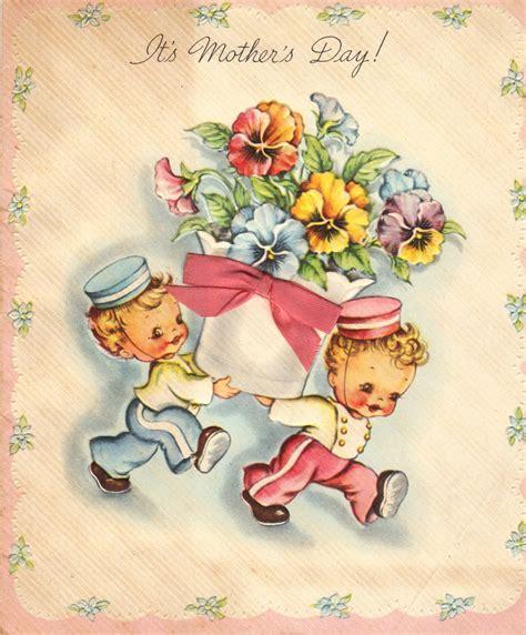 day postcard vintage novella