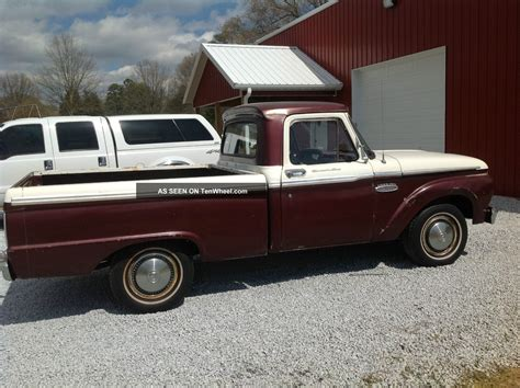 short bed 1965 ford f100 short bed pickup truck