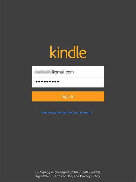 amazon kindle account how to read kindle books on ipad iphone apps
