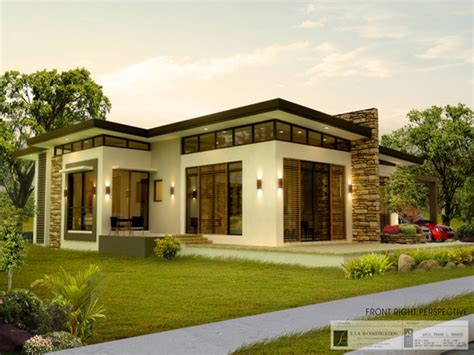 modern house plans in the philippines budget home plans philippines bungalow house plans