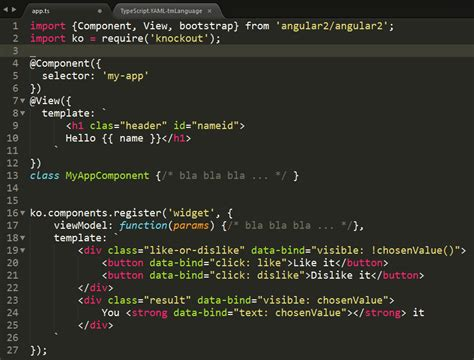 html template syntax angular atom html syntax highlight in template literals