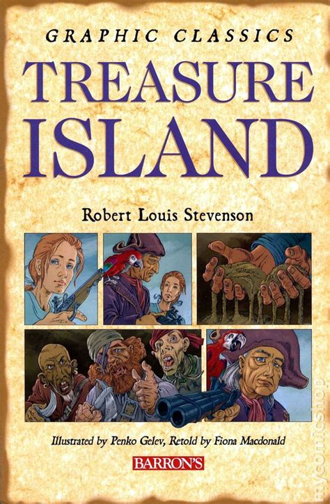 treasure island books graphic classics treasure island gn 2006 barron s comic