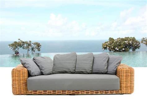 divani da esterno usati arredamento esterno divani in rattan set divano salotto