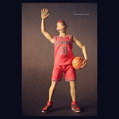 Mini Figure Kodoto Slamdunk Basketball Players hanamichi sakuragi slam dunk by asmus toys photography d toys and slam dunk