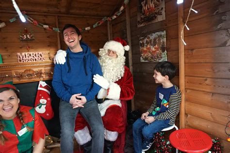 father christmas at garden centre visiting father christmas at wyevale garden centre mumzilla