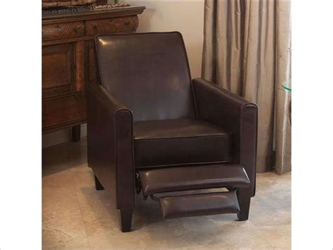 christopher knight home leather recliner club chair christopher knight home leather recliner club chair brown