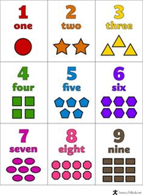 printable number recognition flash cards 1000 images about learning for toddlers on pinterest