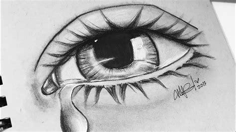 imagenes de ojos llorando a lapiz haz un ojo llorando semi realista los tutos youtube