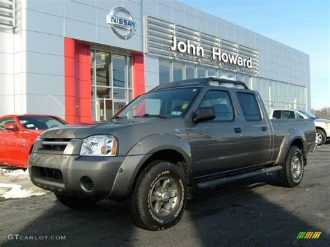 2004 polished pewter metallic nissan frontier xe v6 crew cab 4x4 23925432 gtcarlot car
