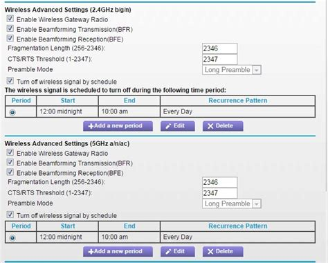 Disable Wifi Id Modem re c7000 disable wifi radios at certain times netgear communities
