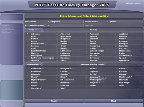 eastside hockey manager 2007 full version download nhl eastside hockey manager 2005 full game free pc