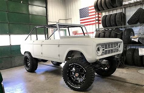 ford bronco 2017 4 door four door bronco by maxlider brothers will turn heads at