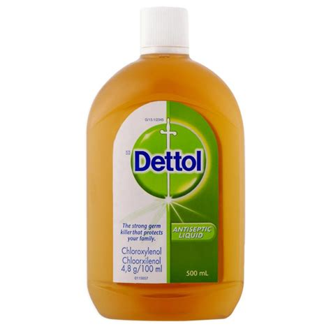 Bedak Dettol dettol antiseptic liquid 500ml gogobli