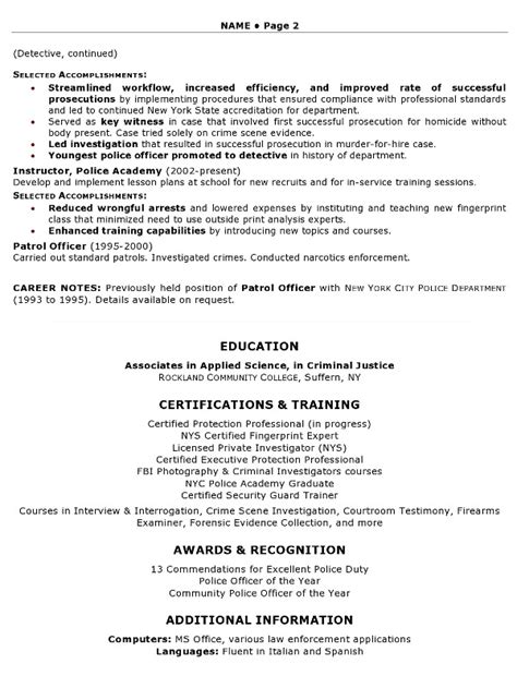 enforcement resume template 28 images read moresles enforcement resume sles and