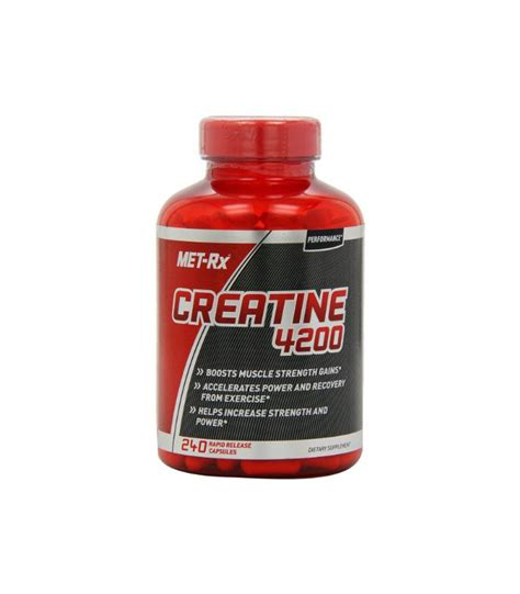 met rx creatine met rx creatine 4200 diet supplement capsules 240 count