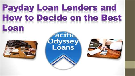 best payday loans ppt best payday loan lenders powerpoint presentation