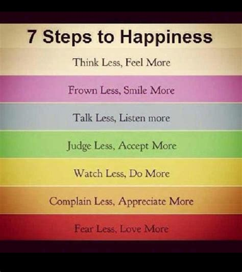 Ten Steps To Happiness by Happy Support Dk 7 Steps To Happiness