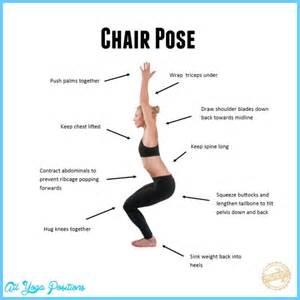 Chair Yoga Pose Chair Pose Yoga All Yoga Positions Allyogapositions Com