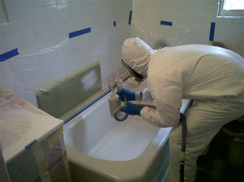 refinishing a bathtub yourself official site of bathrooom resurface inc bathroom
