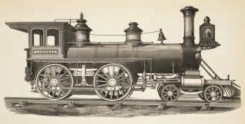 Standard american 4 4 0 locomotive of the mid 19th century