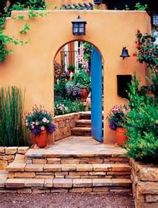 Mexican Home Decorations by Beautiful Mexican Home Entrance Hola Mexico