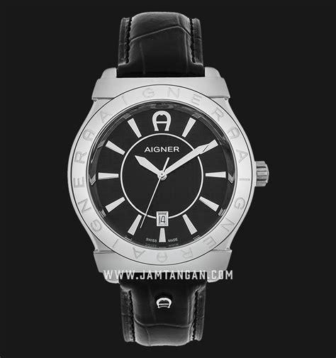 aigner bolzano a24115a black texture black genuine