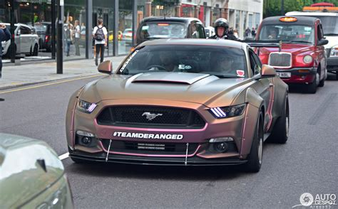 widebody mustang ford mustang gt 2015 deranged widebody supercharged 29
