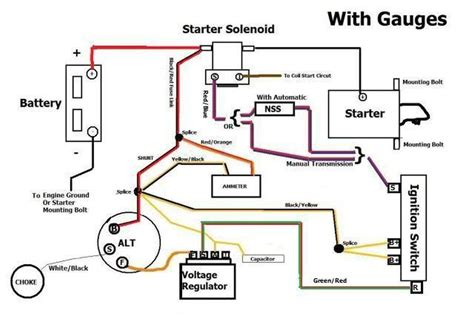 alternator wiring ford truck enthusiasts forums