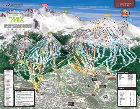 breckenridge ski map breckenridge piste maps and ski resort map powderbeds