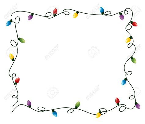 christmas lights clipart free christmas lights clipart border circle pencil and in