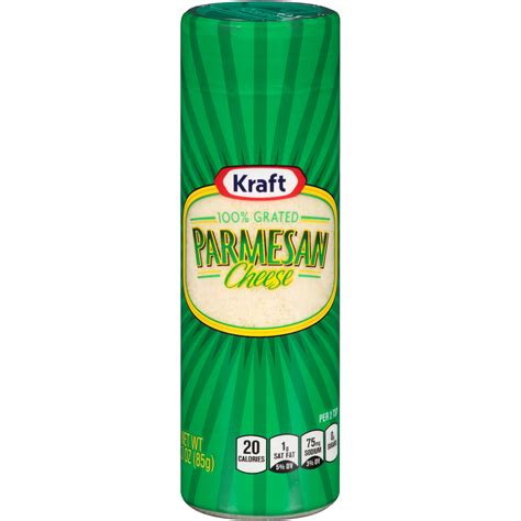 Dijamin Kraft Parmesan Cheese 85 Gr kraft 100 grated parmesan cheese 3 oz shaker food grocery dairy grated cheese