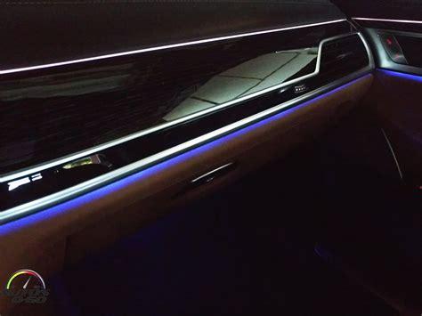 series lights 2017 bmw 7 series ambiance lighting system