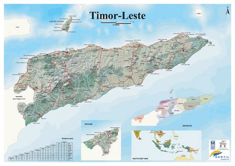 east timor maps east timor relief map east timor mappery