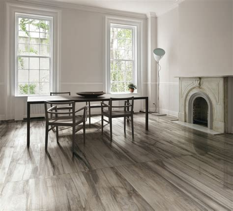 Dining Room Flooring Dining Room Tile Flooring Petrified Wood Tile Porcelain Contemporary Dining Room Other