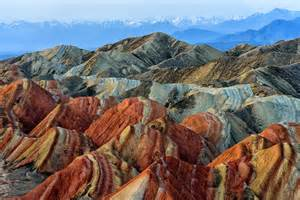 Decorating Style Discover China S Magical Rainbow Mountains Architectural