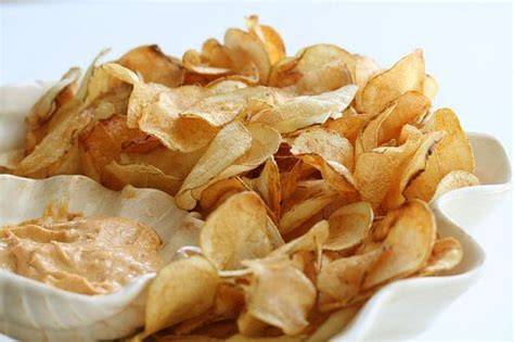 Handmade Crisps - my light as air potato chips steamy kitchen