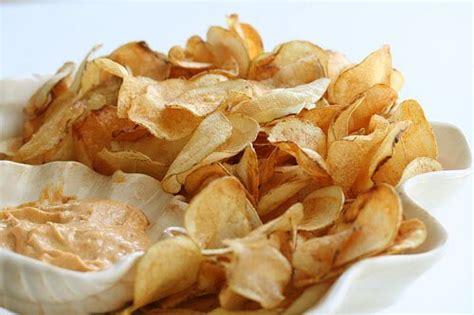 Handmade Chips - my light as air potato chips steamy kitchen