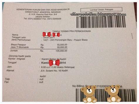 buat paspor online surabaya cara membuat paspor anak online diarysivika food