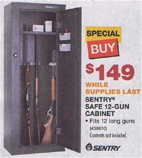 Gun Cabinet Black Friday by Black Friday Deal Sentry Safe 12 Gun Cabinet