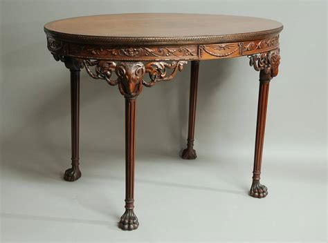 Robert Table L mahogany centre table in the manner of robert adam for sale at 1stdibs