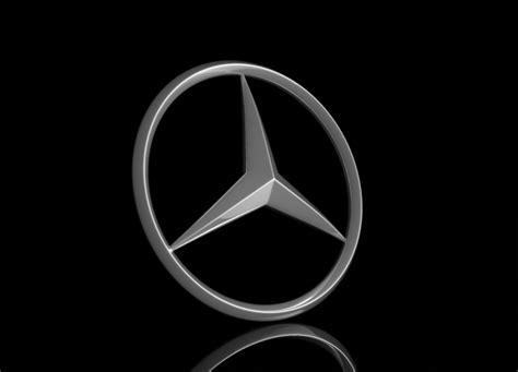 logo mercedes 3d mercedes logo 3d model 3d model max obj fbx c4d hrc
