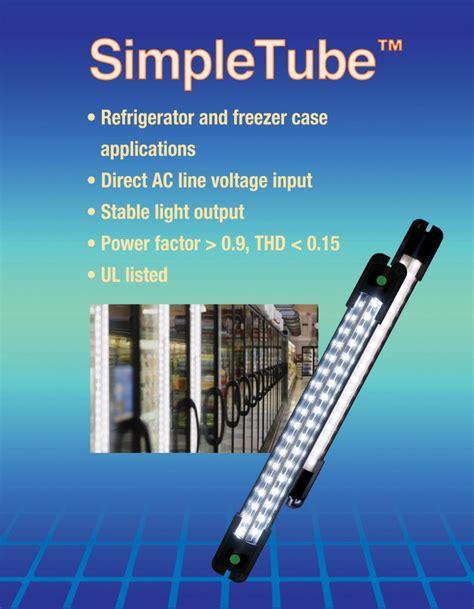 led cooler door lights simpletube led cooler door lights refrigerated