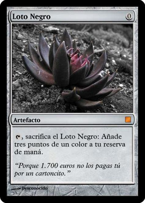 black lotus foil black lotus modern style foil by maestrofenix on deviantart