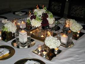Table Centerpiece Ideas by Wedding Party Table Decoration Ideas Party Table