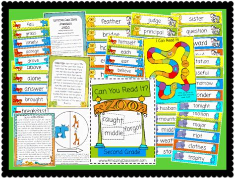 printable games for reading can you read it second grade game printable worksheet