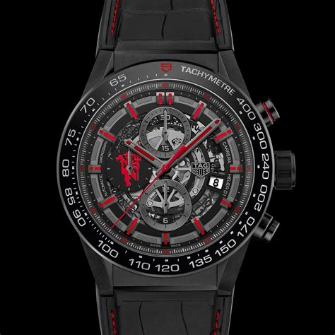 Utd Edition 02 tag heuer introduces manchester united special edition
