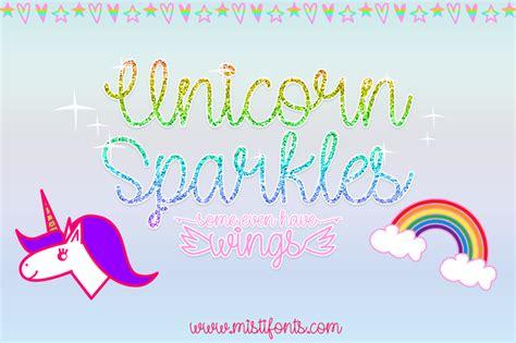 dafont unicorn calligraphy unicorn sparkles font dafont com
