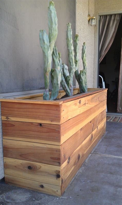 Custom Planter Boxes by Custom Cedar Planter Box 72 Quot X26 Quot X33 Quot Planter Boxes