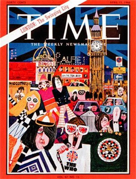 swinging magazine april 16 1966 cover of time magazine london the